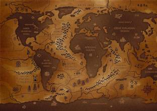 World map typo photographic paper educational posters in india navigation map fine art print gumiabroncs Image collections