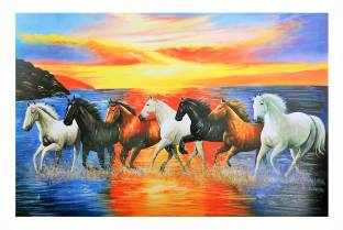 7 Horse This Lucky Paper Print Sb Art Posters Animals Posters In