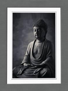 Buddha Half Face 119 Fine Art Print