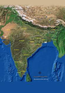 Amy the known world map 3d poster maps posters in india buy world political map pp 16 m 08 paper print gumiabroncs Image collections