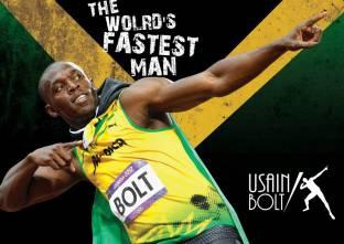 Athah Poster Usain Bolt Paper Print