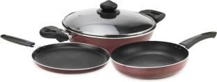 Prestige Omega Deluxe Cookware Set Pan, Kadhai Set