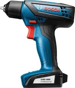 Bosch GSR 1000 Cordless drill Driver Power Tool Kit