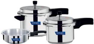 Surya Accent Induction Bottom 2 L, 3 L, 5 L Pressure Cooker
