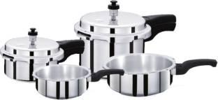 Surya Accent 1 L, 2 L, 3 L, 4 L Pressure Cooker