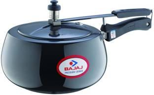 BAJAJ Handi Anodized Induction Base PCX 63HD 3 L Induction Bottom Pressure Cooker