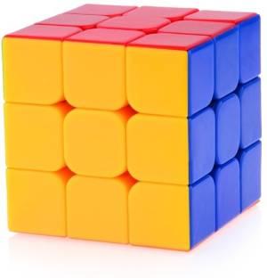 Jaywebstore 3x3 Speed Cube Stickerless 1 Pieces