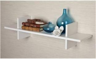 Interior Decor MDF  Medium Density Fiber  Wall Shelf Number of Shelves   1