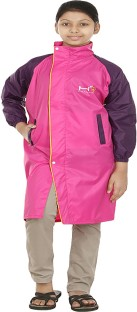 Finery Solid Colour Boys & Girls Raincoat