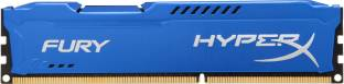 KINGSTON HyperX FURY Memory DDR3 8 GB (Dual Channel) PC (HX318C10F/8)