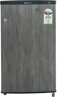 Electrolux 80 L Direct Cool Single Door Refrigerator Silver Hairline