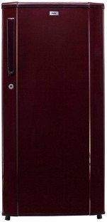 Haier 181 L Direct Cool Single Door Refrigerator Burgundy Red