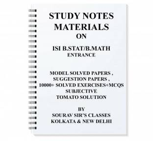 Study Material For Isi M tech Qror With Topic Wise Analysis