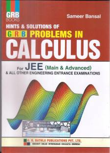 Hints & Solution Of GRB Problems In Calculus For JEE Main & Advanced