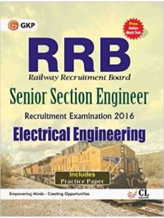 Guide to RRB Electrical Engg.(SENIOR SECTION ENGINEER) 2016 Paperback – 9 Aug 2016
