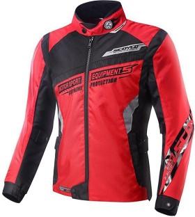 Vega jk 07 motorcycle jacket black