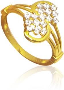 Kalyan Jewellers White Gold Gents 18kt Diamond White Gold ring Price