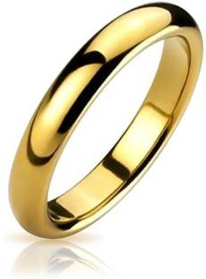 Italian Jewellery Hot Love Brass Gold-plated Plated Ring