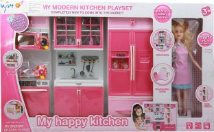 Wishkey Modern Kitchen Set With Music And Light For Kids