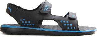 Puma Faas sandal Ind. Men black-french blue Sports Sandals