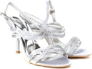 Addons Women Silver Heels