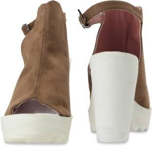 Catwalk Casual Women Brown Heels