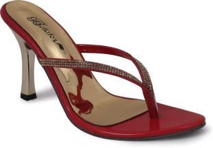 Bellafoz Women Mehroon Heels