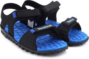 Reebok Men BLACK/STEEL/BLUE Sports Sandals