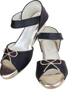5868119e261 HOCO LOCO Women Black Wedges - Buy Black Color HOCO LOCO Women Black ...