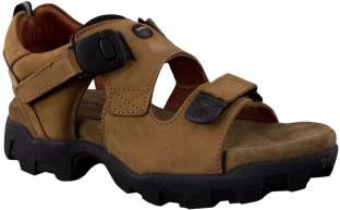 Woodland Men CAMEL Sports Sandals