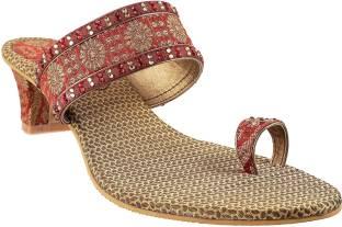Mochi Women 44,Maroon Heels