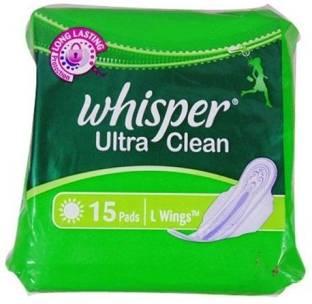 Whisper Ultra Clean L Wings Sanitary Pad