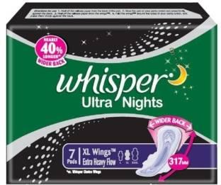 Whisper Ultra Night XL Wings Sanitary Pad