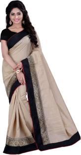 Sarvagny Clothing Self Design Fashion Banarasi Silk Saree