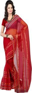 Ansu Fashion Solid Fashion Tissue Sari