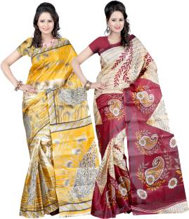 Ajamukhi Self Design Bollywood Art Silk Sari