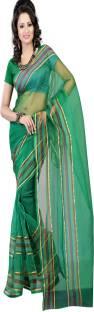 Sanju Sarees Solid Fashion Tissue Sari