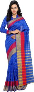 sarvagny clothing Self Design Kanjivaram Chanderi, Poly Silk Sari