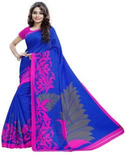 AJS Self Design Bollywood Art Silk Saree