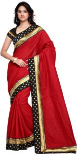 Sarvagny Clothing Self Design Fashion Art Silk Saree