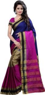 Style U Embellished Kanjivaram Handloom Art Silk, Polyester Sari