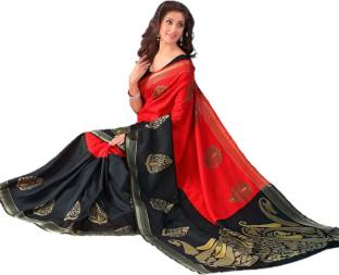 Design Willa Printed Fashion Silk Cotton Blend Saree