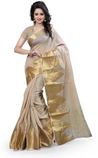 Style U Self Design Banarasi Cotton Sari