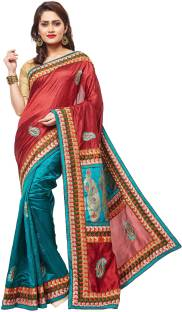 941a123399a Buy RB Sarees Embroidered Fashion Pure Silk Black