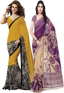 Kashvi Sarees Printed Daily Wear Georgette Sari