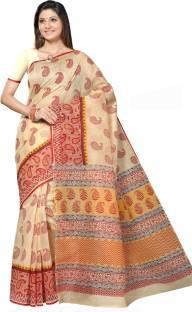 e4ca3a6b8f Buy Gurukul Saree Printed Fashion Georgette Blue Sarees Online ...