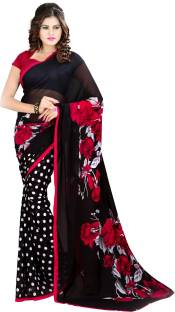Heena Printed Fashion Georgette Sari