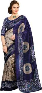 Bhavi Printed Fashion Art Silk Sari