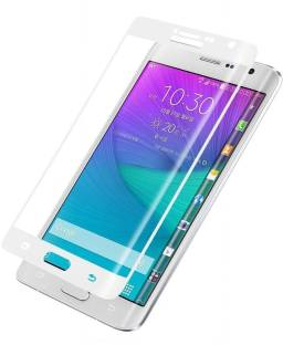 ELEF Tempered Glass Guard for Samsung Galaxy Note Edge (White)