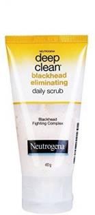 NEUTROGENA Deep Clean Black head Daily  Scrub